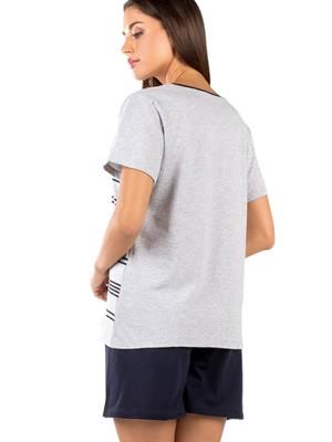 Γυναικεία Πυτζάμα MINERVA Ultramarine - 100% Βαμβακερή - Smart Choice SS21