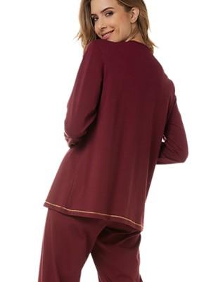Πυτζάμα Γυναικεία MINERVA MAGICAL - 100% Βαμβάκι Interlock - Lurex Σχέδιο - Χειμώνας 2020/21
