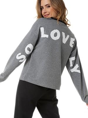 Πυτζάμα Γυναικεία MINERVA Φούτερ SO LOVELY - Extra Ζεστή - Χειμώνας 2020/21