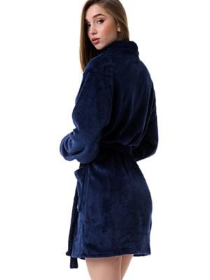 Ρόμπα Γυναικεία MINERVA - Απαλό & Ζεστό Fleece - Χειμώνας 2020/21