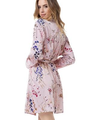 Ρόμπα Πολυτελείας GOSSIP Antoinette - Απαλό Σατέν - Floral Σχέδιο - Χειμώνας 2020/21