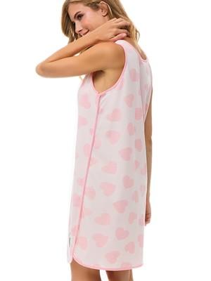 Γυναικείο Νυχτικό MINERVA Martenity SWEET - 100% Βαμβακερό - Καλοκαίρι 2021