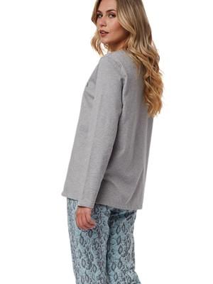 Πυτζάμα Γυναικεία MINERVA Snake Pants - 100% Βαμβάκι Interlock - Χειμώνας 2021/22