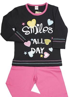 Παιδική Πυτζάμα Minerva SMILES ALL DAY  - 100% Αγνό Βαμβάκι- Hot Pick 18/19