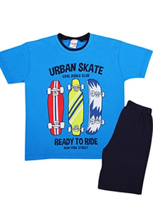 Παιδική Πυτζάμα MINERVA Urban Skate - 100% Αγνό Βαμβάκι - Smart Pick SS20