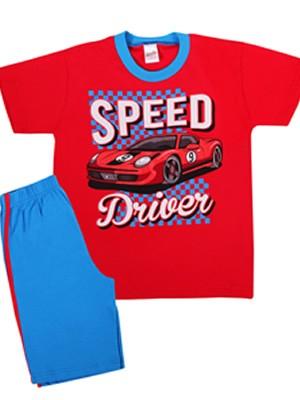MINERVA Παιδική Πυτζάμα Speed Driver - 100% Αγνό Βαμβάκι - Smart Pick SS20
