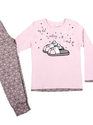 Παιδική Πυτζάμα MINERVA Pink Dream  - 100% Αγνό Βαμβάκι Interlock - Back To School FW20/21