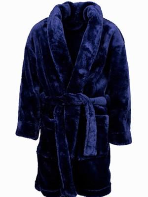 Παιδική Ρόμπα MINERVA Fleece για αγόρι - Ζεστή & Απαλή - Back To School FW20/21