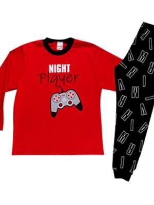 Παιδική Πυτζάμα MINERVA Night Player - 100% Aγνό Βαμβάκι - Χειμώνας 2020/21
