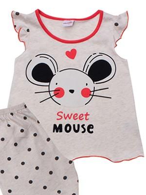Βρεφική Πυτζάμα MINERVA Sweet Mouse - 100% Αγνό Βαμβάκι - Καλοκαίρι 2021