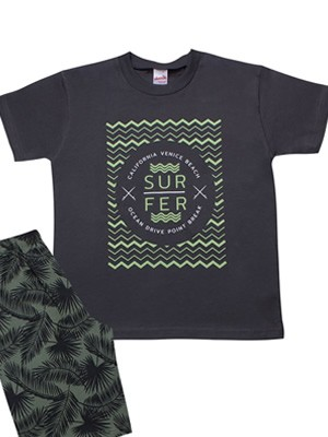 Παιδική Πυτζάμα MINERVA Surfer - 100% Αγνό Βαμβάκι - Καλοκαίρι 2021