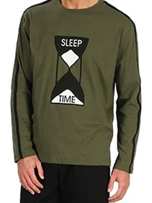 Ανδρική Πυτζάμα SLEEP TIME MINERVA - 100% Βαμβάκι Interlock