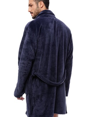 Ανδρική Ρόμπα MINERVA Fleece - Απαλή & Ζεστή - Smart Choice FW21/22