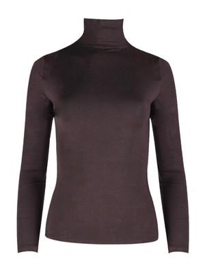 Minerva Γυναικεία Μπλούζα Outwear - Ζιβάγκο Μακρύ Μανίκι - Super Απαλό Modal