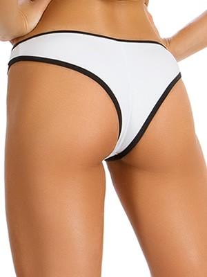 Μαγιό GOSSIP Brazilian Bikini Black White - Καλοκαίρι 2019