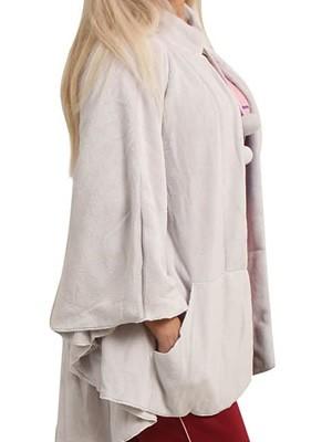 Γυναικείο Πόντσο Minerva  - Fleece Πολύ Γεμάτου Πάχους
