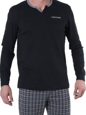 Ανδρική Πυτζάμα Homewear Navigare - 100% Βαμβάκι Interlock - All Over Σχέδιο - Χειμώνας 2018/19