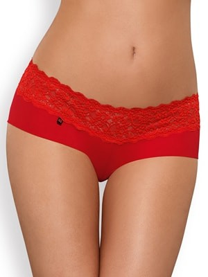 Obsessive LACEA Shorties - 2 PACK - Φαρδιά Δαντέλα - Valentine 19