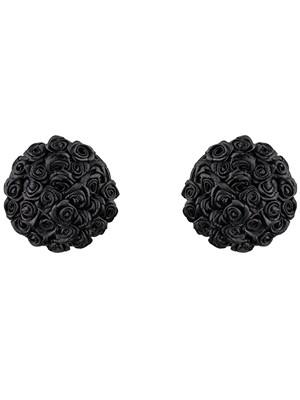 Obsessive Lucky Nipple Covers - Αξεσουάρ Θηλών σε σχήμα τριαντάφυλλο Μαύρο