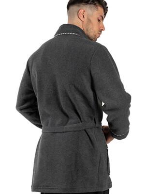 Ανδρική Ρόμπα ΟΔΥΣΣΕΥ - Ζεστό & Απαλό Fleece - Smart Choice FW21/22