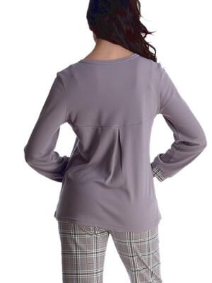 Πυτζάμα Γυναικεία RACHEL - 100% Βαμβακερή - Κουμπιά - Χειμώνας 2021/22