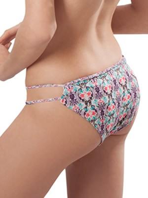 Μαγιό BLU4U Slip Serefina- Bikini Brazilian - Πλεχτές Λωρίδες - Mix & Match