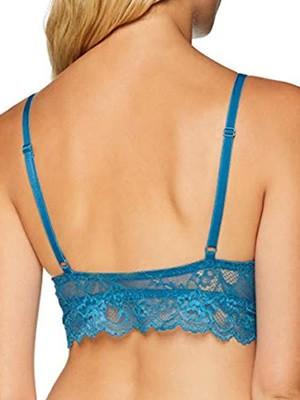 Σουτιέν TRIUMPH Tempting Lace P - Bralette με Ελαφριά Ενίσχυση - Χωρίς Μπανέλα - Hot Pick SS19 - 10190419 6169