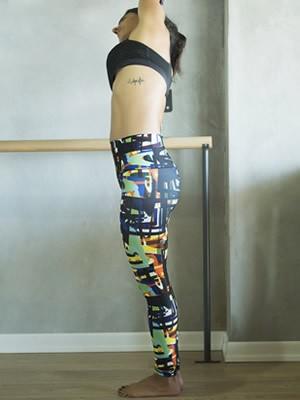 Κολάν Παντελόνι Ψηλόμεσο Up & Fit - Ελαστικό ``Σφιχτό`` Ύφασμα