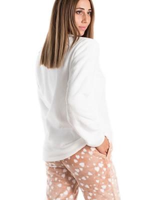 Πυτζάμα Πολυτελείας VIENETTA - Απαλό Fleece - Ανάγλυφο Σχέδιο - Smart Pick 19/20