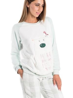 Πυτζάμα Πολυτελείας VIENETTA - Απαλό Fleece - Γούνινο Σχέδιο - Smart Pick 19/20