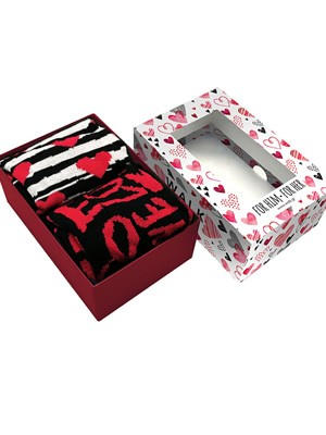 WALK Love Gift Box - Ανδρική & Γυναικεία Κάλτσα