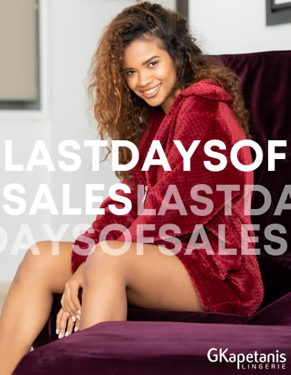 LAST DAYS OF SALES  -50%