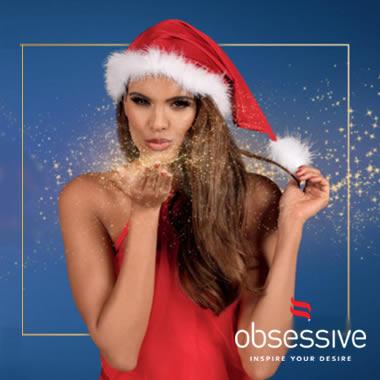 Εσώρουχα Obsessive XMAS Promo Sale -20%